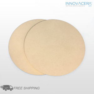 INNOVACERA® Porous Ceramic Disc For Vacuum Chuck, Dia200*T3mm, 15um