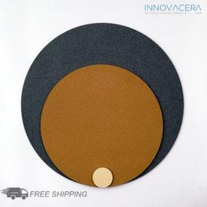 INNOVACERA® Al2O3 Micro-Porous Ceramic Circle Plates