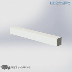 INNOVACERA® Machinable Ceramic Bar 25.4 X 25.4 X 25 Mm
